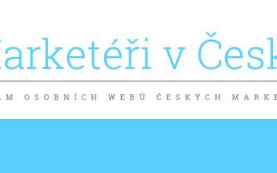 Místo článku na blog vznikl seznam osobních webů českých marketérů