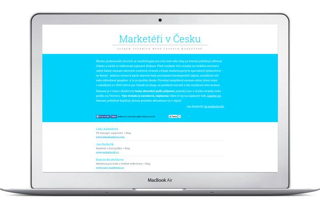 Marketéři v Česku